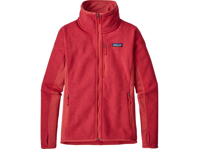 Patagonia Performance Better Sweater Jacket Dame static red